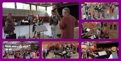 bal chantant violet multiple