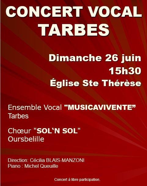Affiche Ste Thérèse - 26.06.2016