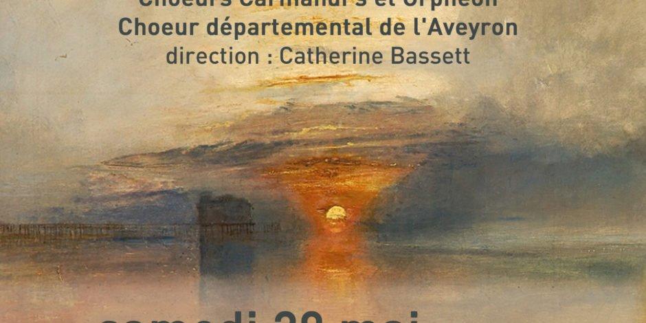Affiche concerts 20 et 21 mai, LumieresNordCouleurSud