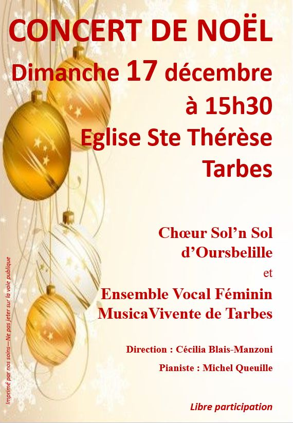 AFFICHE STE THERESE  - 17.12.2017