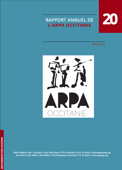 Bilan d'activité de l'ARPA 2020